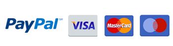 Pellets mit PayPal und Kreditkarte kaufen