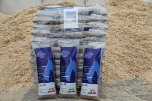 Holzpellets Sackware (66x15kg) Energieversorgung Offenbach AG