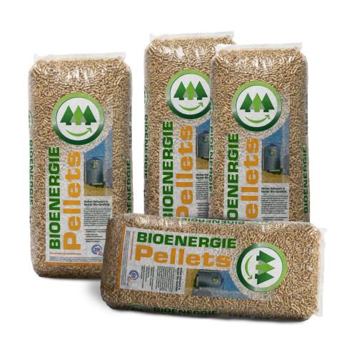 Holzpellets Sack (15kg) EC Bioenergie Pellets